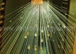 Atrium fiber optic chandelier 1-3