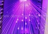 Atrium fiber optic chandelier 1-4