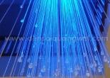 Atrium fiber optic chandelier 1-7
