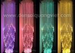 Atrium fiber optic chandelier 10-1