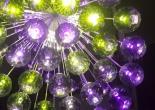 Atrium fiber optic chandelier 10-11