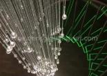Atrium fiber optic chandelier 10-2