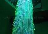 Atrium fiber optic chandelier 10-9