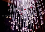 Atrium fiber optic chandelier 11-1