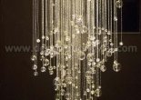 Atrium fiber optic chandelier 11-3