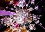 Atrium fiber optic chandelier 11-5