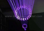 Atrium fiber optic chandelier 2-2