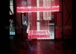 Atrium fiber optic chandelier 3-2