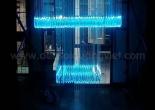 Atrium fiber optic chandelier 3-3