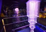Atrium fiber optic chandelier 3-5