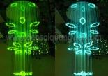Atrium fiber optic chandelier 4-1