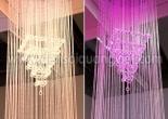 Atrium fiber optic chandelier 5-1