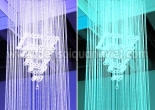 Atrium fiber optic chandelier 5-2
