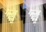 Atrium fiber optic chandelier 5-3