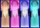 Atrium fiber optic chandelier 5-4