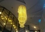 Atrium fiber optic chandelier 7-1