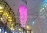 Atrium fiber optic chandelier 7-2