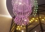 Atrium fiber optic chandelier 7-3