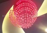 Atrium fiber optic chandelier 7-4