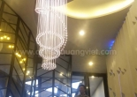 Atrium fiber optic chandelier 7-6