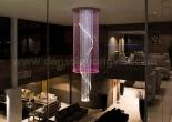 Atrium fiber optic chandelier 8-1