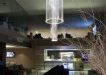 Atrium fiber optic chandelier 8-3