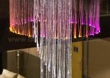 Atrium fiber optic chandelier 8-5