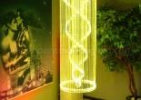 Atrium fiber optic chandelier 8-6
