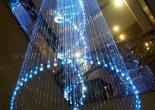 Atrium fiber optic chandelier 8-7