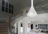 Atrium fiber optic chandelier 9-1