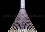 Atrium fiber optic chandelier 9-3