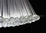 Atrium fiber optic chandelier 9-5