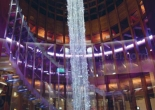 Custom atrium fiber optic chandelier 3