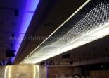 Dropped fiber ceiling 14