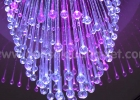 Fiber optic chandelier 1