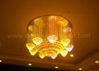 Fiber optic chandelier 10
