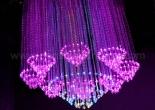 Fiber optic chandelier 10-2