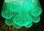 Fiber optic chandelier 10-6