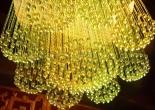 Fiber optic chandelier 10-7