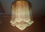 Fiber optic chandelier 10-8