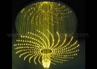 Fiber optic chandelier 11
