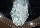 Fiber optic chandelier 12