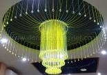 Fiber optic chandelier 12-2
