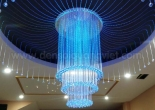 Fiber optic chandelier 12-3