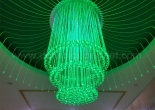 Fiber optic chandelier 12-5
