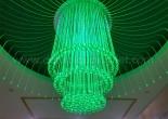 Fiber optic chandelier 12-5