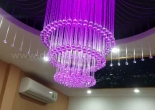 Fiber optic chandelier 12-6