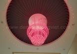 Fiber optic chandelier 12-7