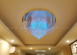Fiber optic chandelier 14-1