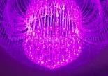 Fiber optic chandelier 14-7